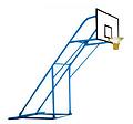 地埋式篮球架经销商,篮球架,鲁达体育价格公道查看