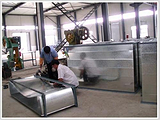信阳共板法兰风管,河南风管加工选捷维诺实业,共板法兰风管厂家