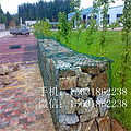山体滑坡防护镀锌石笼网 海岸边坡防护钢丝网石笼网 铅丝石笼网