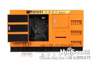 120千瓦静音柴油发电机组野外使用