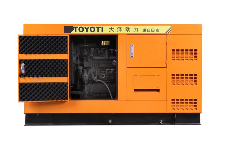 工程投标75kw柴油发电机 移动发电机优势 1、采用非电启动及空气为冷却介质的发动机,不但免除了蓄电池及风箱水箱的维护以及加注冷却液的烦恼,而且能在极高、低温和沙尘等恶劣的环境下工作。在长期存放的情况下,装备随时可以奔赴现场并立即投入作业。 2、采用免电励磁的发电机,可免除电励磁装置维护的烦恼;同时,由于结构简单,一旦被浸泡,只需6个小时就可在现场令其再生;由于电磁兼容性优异,不受雷电等干扰;发电效率还可以提高10~15%。 3、由于配套的设备全部具有结构简约、体积小、重量轻的优势,所以整机装备采用拖挂